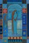 petite chanson d'amour 16 acryl op papier op paneel 30 x 20 cm