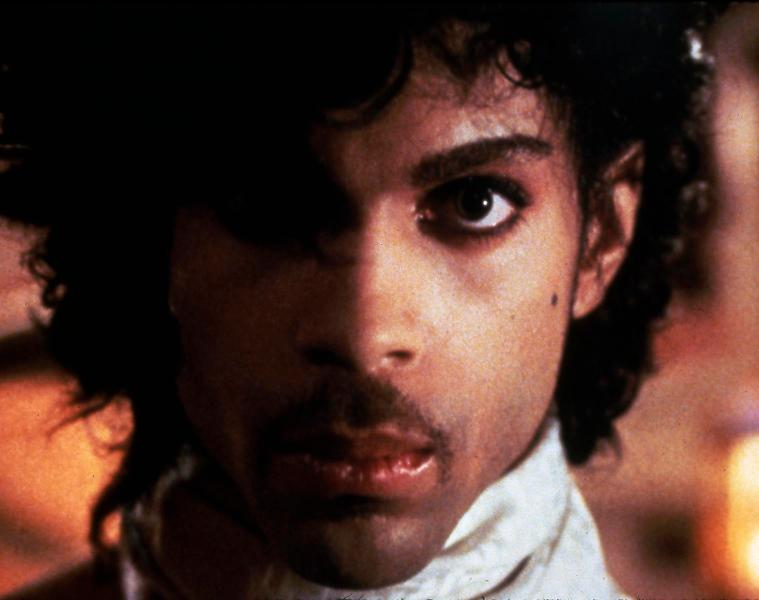 """Studio Publicity Still from """"Purple Rain""""  Prince © 1984 Warner - HA/DALLE"""