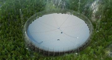 È cinese il radiotelescopio più grande del mondo