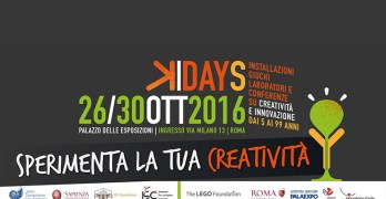 Kreyon Days, a Roma in scena creatività e scienza