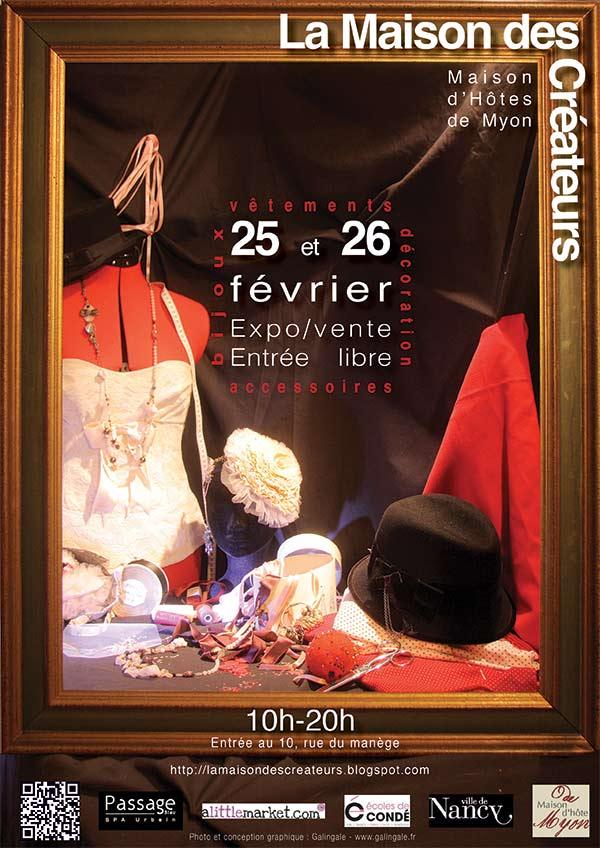 maison des créateurs 2012 affiche