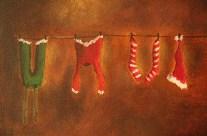 Les habits du père Noël