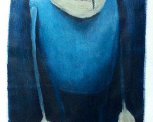 La colère – bleu 1