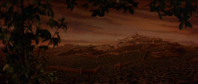 Die Reise ins Labyrinth - Labyrinth und Schloss des Kobold Königs