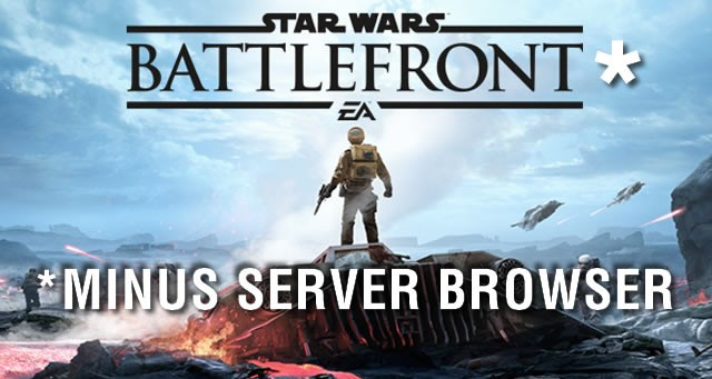Battlefront Star Wars Without Server Browser