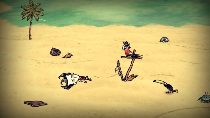 Dont-Starve-Shipwrecked-Gestrandet