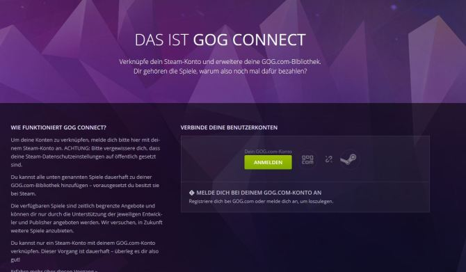 GOG-Connect-Steam-Games-ohne-DRM