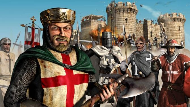 Top-10-LAN-Games-Die-Zweite-Runde-Stronghold-Crusader-Logo