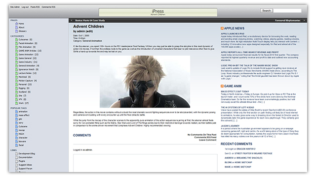 iPress WordPress Theme