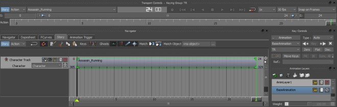 Keys are much more readable when the timeline is zoomed to extents.