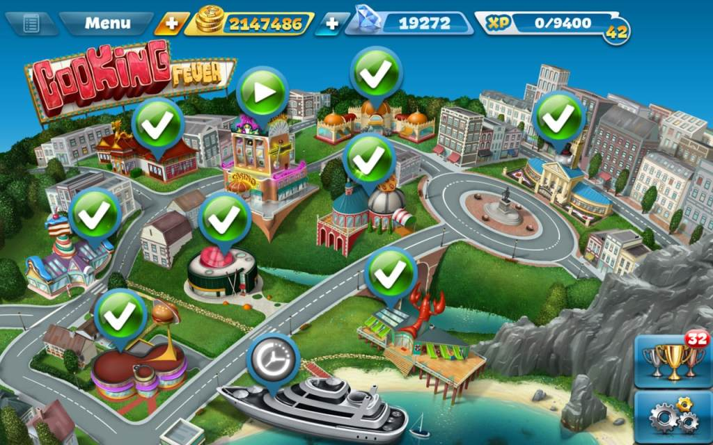 how to win more gems on cooking fever