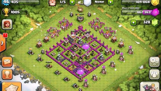clash of clans layout 4
