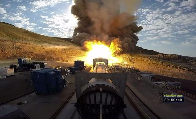 NASA Testing Out Its Huge Mars Rocket