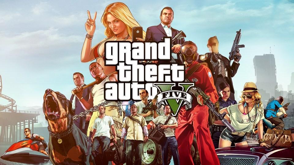 Caerse en Grand Theft Auto V