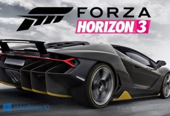 Forza Horizon 3 Xbox One Windows 10