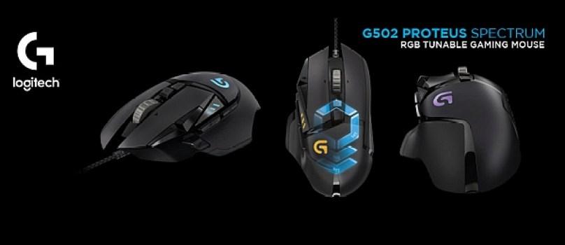 logitech-mouse-diseñados-videojuegos-gaming-g502-proteus-spectrum