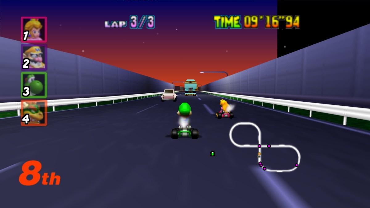 Mario Kart realmente te hace mejor conductor, afirma estudio