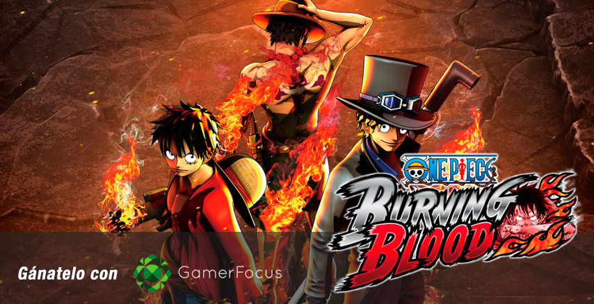 Llévate un One Piece: Burning Blood para PS4 con GamerFocus