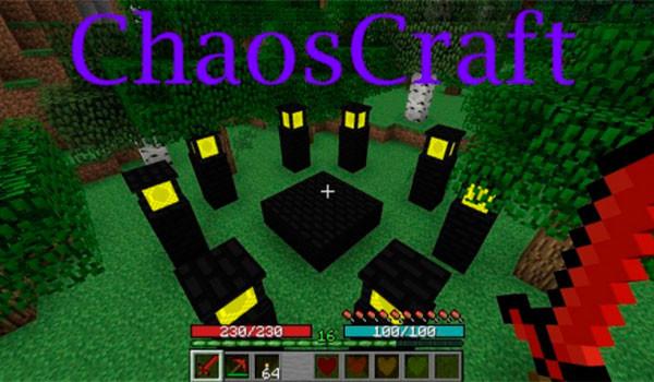 ChaosCraft 2 Mod para Minecraft 1.7.10-GAMERSRD
