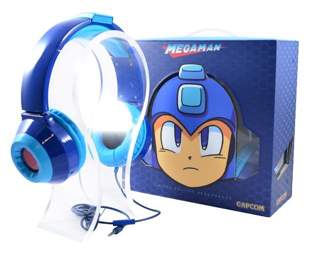 Headphones oficiales de Mega Man-GAMERSRD