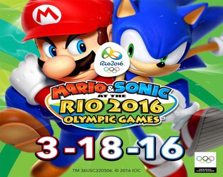 Mario & Sonic -GAMERSRD-RIO 2016