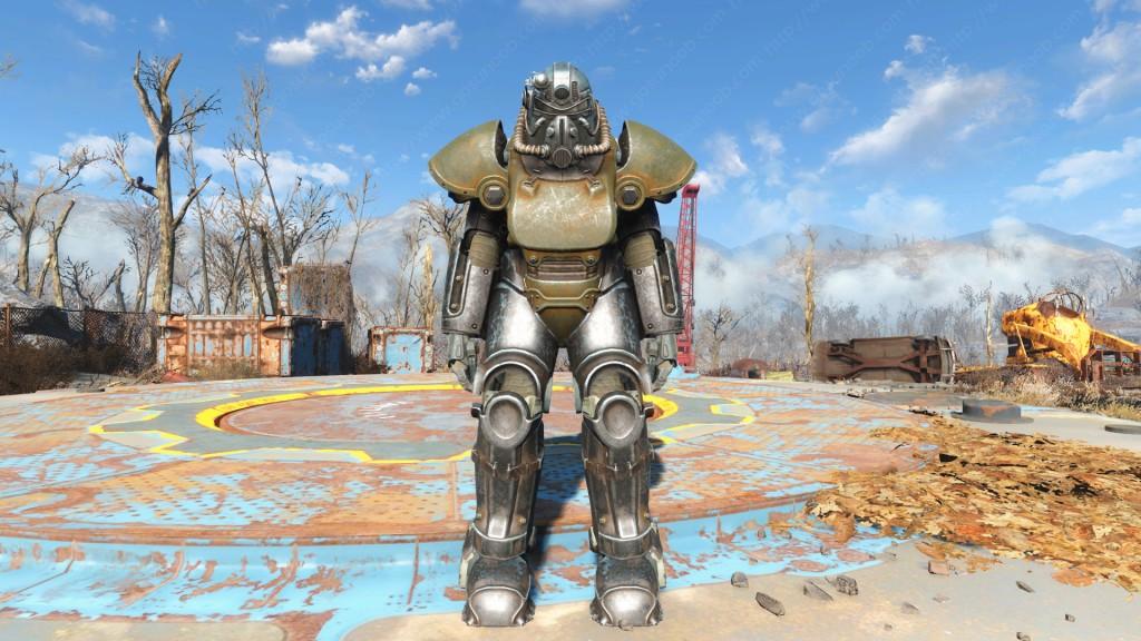 Power Armor T-51 de Fallout 4-gamersrd