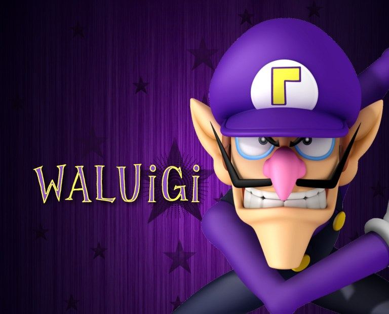 Waluigi-Super Smash Bros Brawl-GAMERSRD