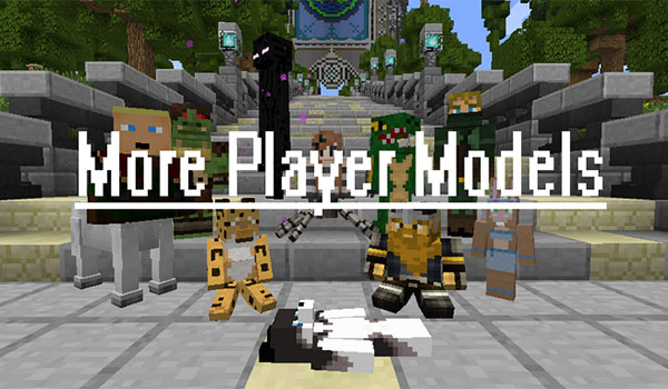 More Players Models Mod- Minecraft -GAMERSRD