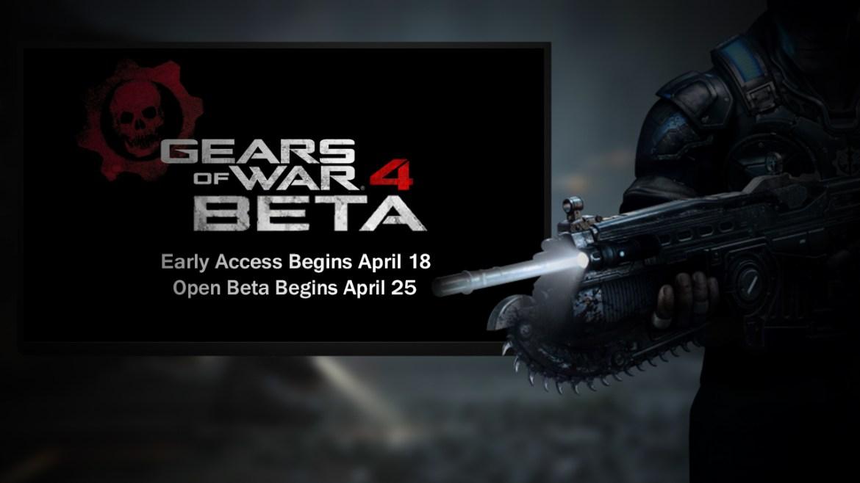 beta del Gears Of War 4 -gamersrd