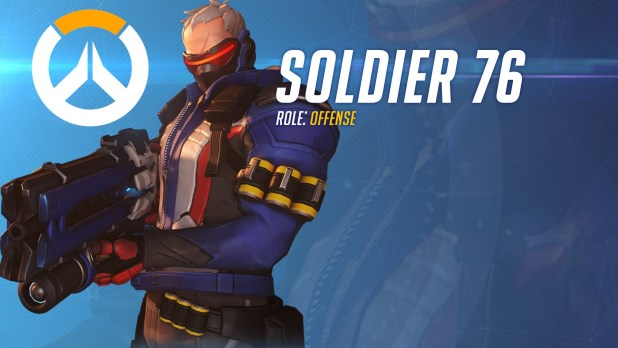 Soldier 76 -Overwatch-GAMERSRD