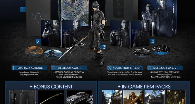 Ultimate Collector de Final Fantasy XV