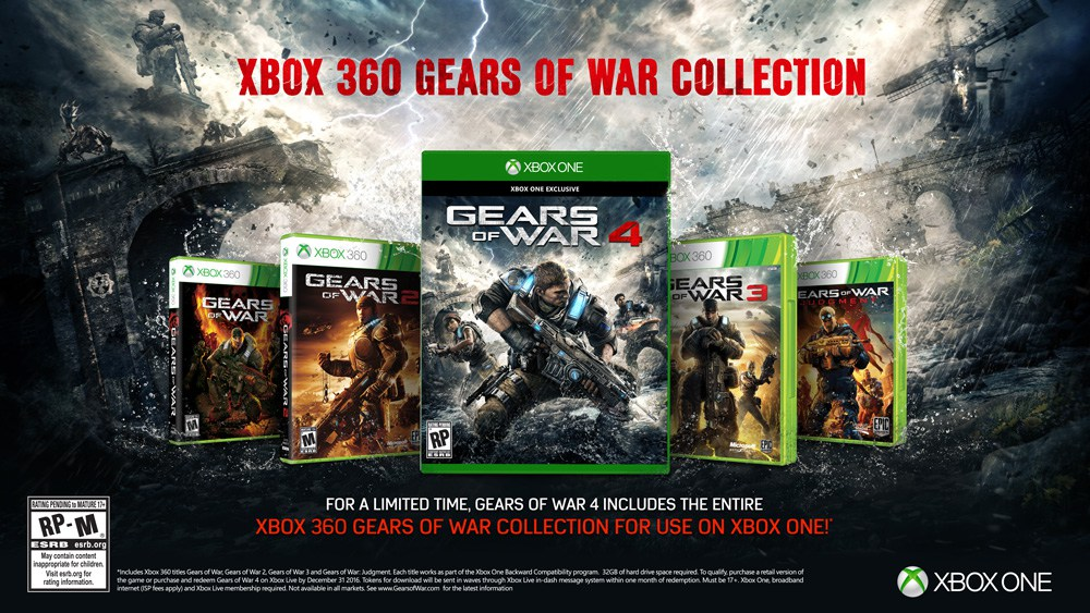 Gears of War 4 -Xbox 360 Collection-GamersRD