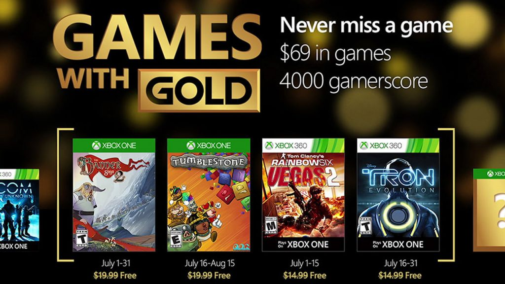 Games with Gold July -GamersRD