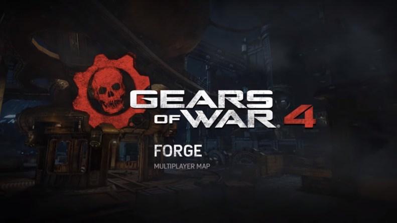 Gears of War 4 Forge Multiplayer Map Flythrough-GamersRD