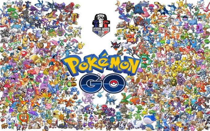 Pokémon Go-lista de pokemons-GamersRD