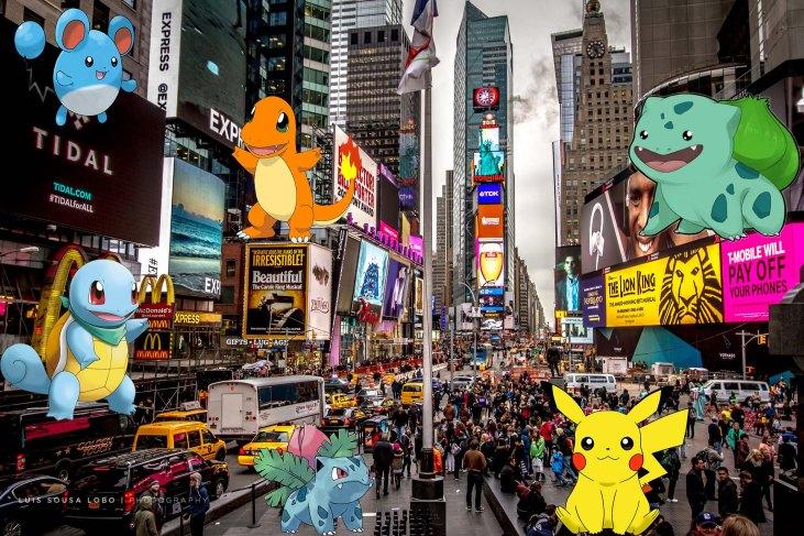 Pokemon Go- NY-Time Square-GamersRD