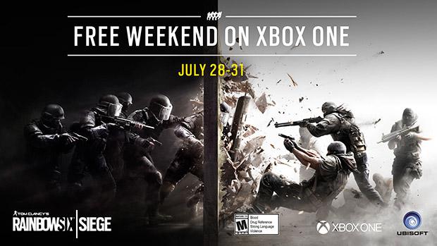 Juega Rainbow Six Siege en Xbox One este fin de semana