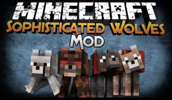 Sophisticated Wolves Mod para Minecraft -gAMERSrd