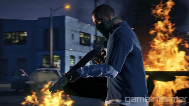 Grand Theft Auto V - Franklin (Gameinformer)