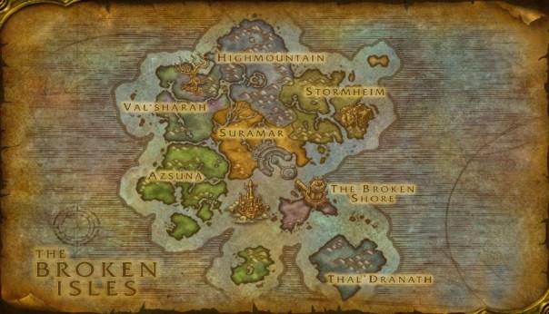 Mapamundi de las Islas Abruptas