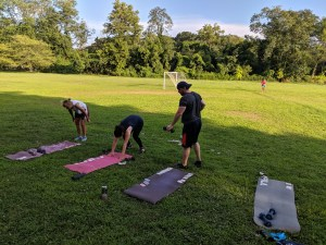 Burpee Bombs at GamesFitness.com
