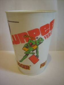 FROGGER 7-11 SLURPEE 1980s CLASSIC VIDEO GAME CUP RARE