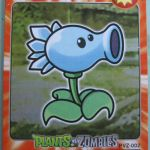 Plants vs. Zombies CHINESE trading cards 4
