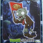 Plants vs. Zombies CHINESE trading cards 5