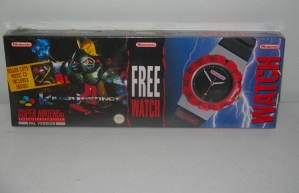 Killer Instinct - Super Nintendo SNES Big Box Sealed Watch Bundle