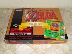Zelda A Link to the Past Super Nintendo PAL Big Box 3