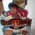 street fighter iii dreamcast standee