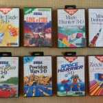 Every Single Sega Master System Segascope 3D game
