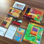 PAL Super Nintendo Legend Of Zelda A Link To The Past Gold Pack