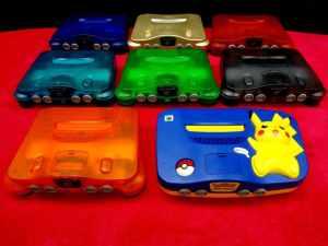 Nintendo 64 N64 Funtastic 8 bundle